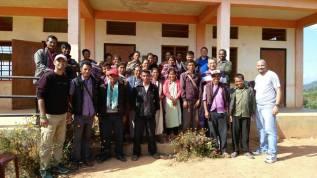 Proceso de localización para nuevas comunidades de NCHEF en la Provincia de India; porTST