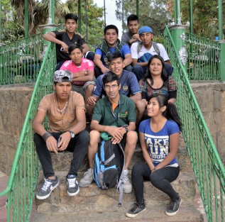 Las 'vacaciones' de los niños y niñas que asisten al Centro Hermano Manolo enCochabamba
